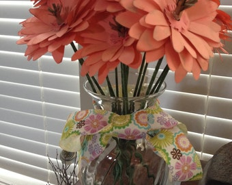 Paper flowers/Coral paper daisies/coral paper flowers/coral paper daisies