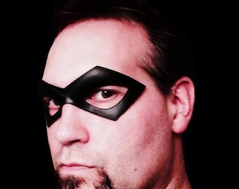 Justice Green Arrow Robin Arsenal Red Superhero Eye Mask