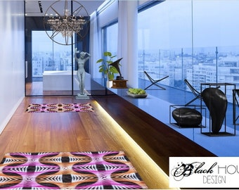 Interior design (digital) for a small space or entrance