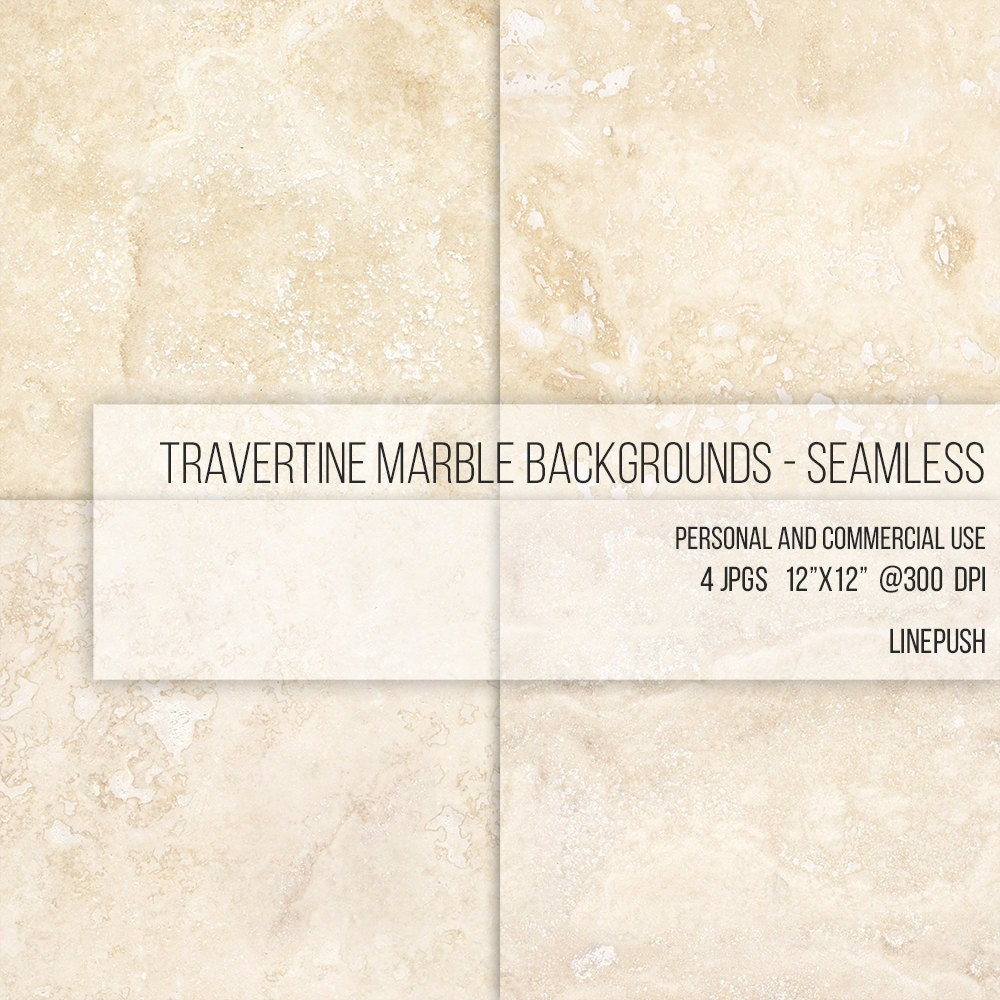 Seamless Travertine Stone : Sale seamless travertine marble texture digital paper clip