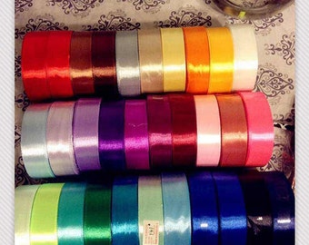 31 yards,bulk Wholesale silky ribbon 1inch 2.5cm, satin ribbon,