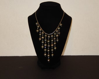 Freshwater Pearl Bib Necklace
