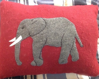 Elephant pillow,Decorative pillow,Small pillow, Home decor, Couch pillow