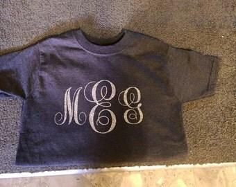 Childrens monogram shirt