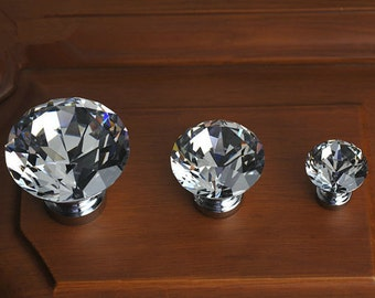 Crystal knobs Etsy