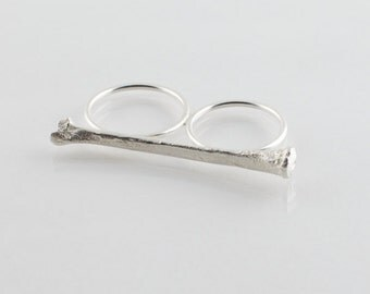 Cast Bone Knuckle Duster Ring