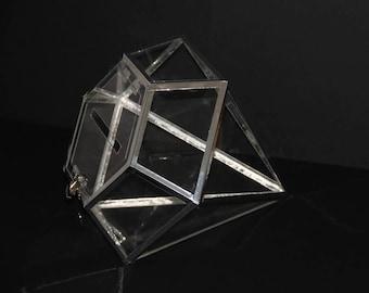 Urn / / / diamond/plexiglass / / wedding / gift idea / / event