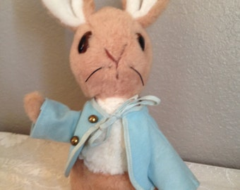 Rare Vintage Peter Rabbit Plush Eden Collection