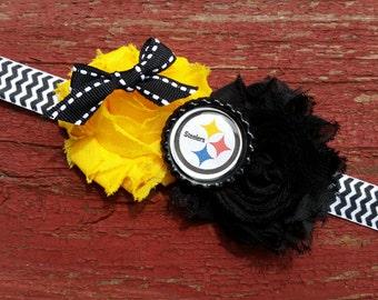 Pittsburgh Steelers elastic headband