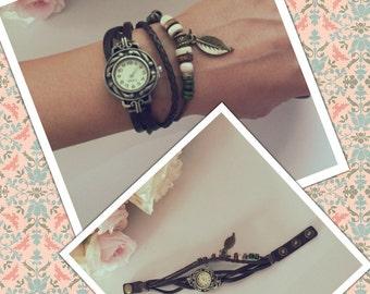 Vintage looking wrist watch
