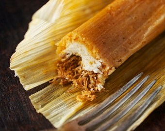 Pork and Cheese Tamales (1 dozen)
