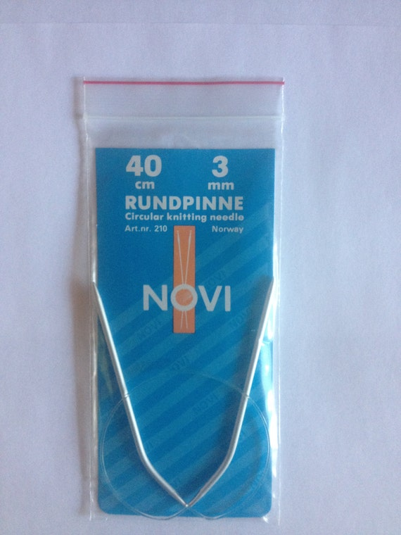 Knitting Needles Norwegian Air : Novi circular knitting needles quot cm made in norway