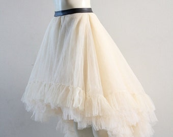 Tulle Skirt Petticoat Tutu Fairytale Bride Wedding CHRISST