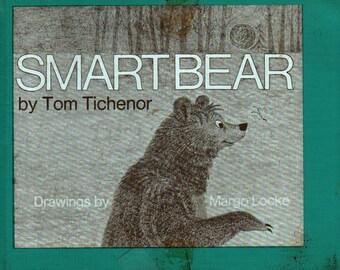 Smart Bear + Tom Tichenor + Margo Locke + 1970 + Vintage Kids Book