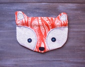 Fox Pouch Feathers