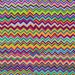 Zig Zag in Multi by Brandon Mably red blue green 1/2 yard Kaffe Fassett fabric Westminster Fabric Cotton, Quilt Craft and Apparrell fabric