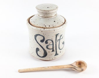 Pottery Salt Jar