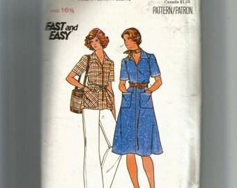 Butterick Misses' Half Size Dress, Top, Pants and Belt Pattern 4265