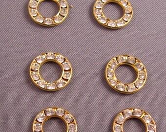 Swarvorski Crystal Circles