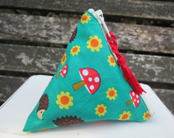 Menstrual cup pouch Hedgehoglets