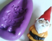 Garden GNOME Silicone Mold Mould 39 mm  - Cake Decorating, Cupcakes, Toppers, Fondant, Fimo, Polymer Clay