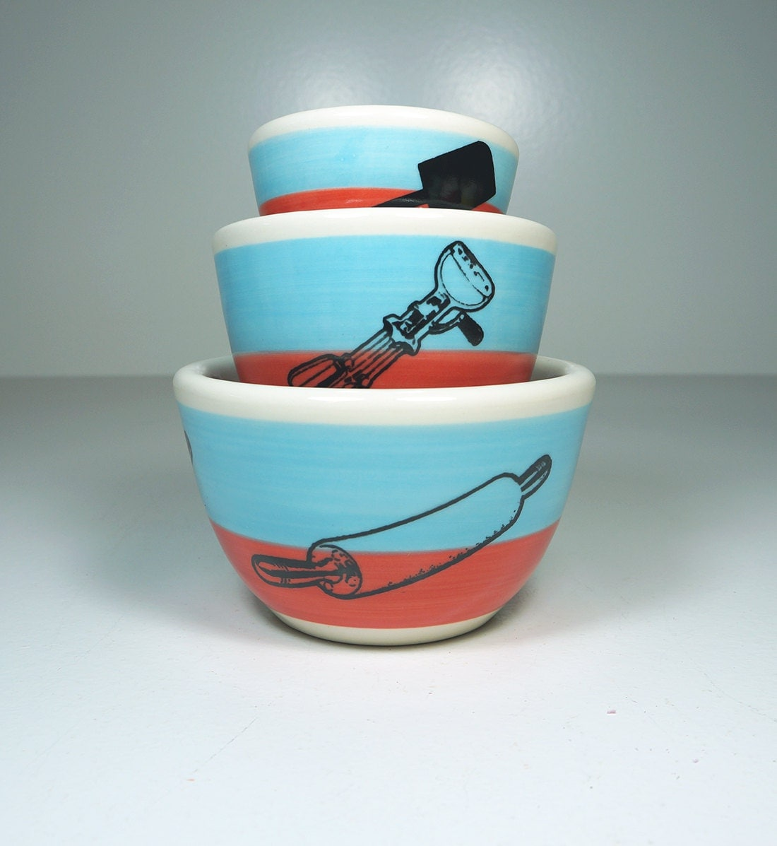 The Color Block Urban Set for The Baker. Made to Order.