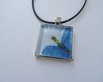 Bird Necklace, White Egret, Heron Pendant, Bird Jewelry Sale, Nature Jewelry Gift for Girls and Women