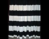 Custom Striped Curtains