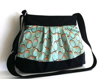 Cross body bag , women messenger bag , vegan shoulder bag , street fashion bag ,  handmade purse , casual girl bag , cross body purse