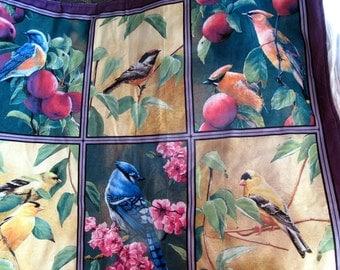 Birds Wall Hanging Blue Bird Blue Jay Finches Robin Chick a dee Beautiful No Tabs