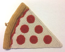 Pizza Slice Crochet Pattern