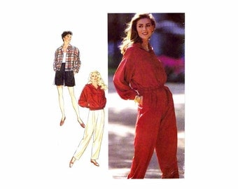 Jacket Pants Trousers Shorts Style 2209 Sewing Pattern Size 6 - 8 - 10 - 12 - 14 - 16 Bust 30 1/2 - 31 1/2 - 32 1/2 - 34 - 36 - 38 Uncut