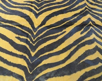 TIGER Print Upholstery Fabric 51 x 41