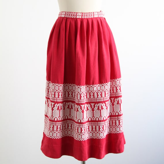 Vintage Mexican Skirt 89