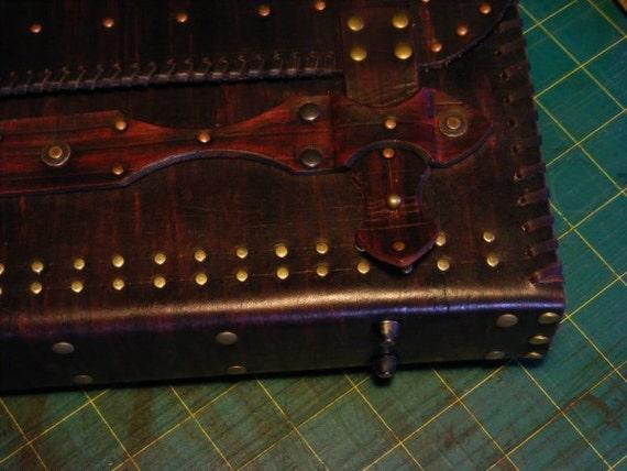 RESERVED for Thomas Adams Leather satchel Messenger bag handmade ooak