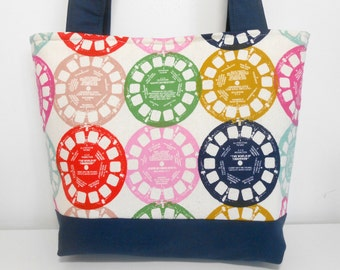 Cotton and Steel Viewfinders Medium Purse, Medium Tote bag with Pockets