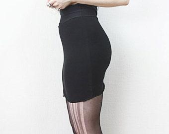 high waist mini skirt // nässla