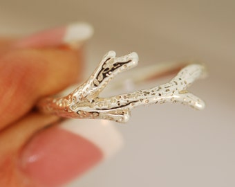 Reef Coral Branch Ring