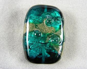 Memorial glass bead: Nebula series, medium, (pet)