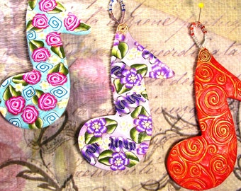 Musical Note ornaments ORN0015-15