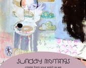 Sunday Mornings online workshop - by Mindy Lacefield