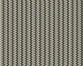 Zipper Stripe Black - Tilly Collection - Charlotte Lyons for Blend Fabrics - Premium Cotton Quiliting Fabric - One Yard