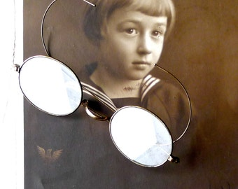 Antique Wire Frame Spectacles 10k Gold Filled