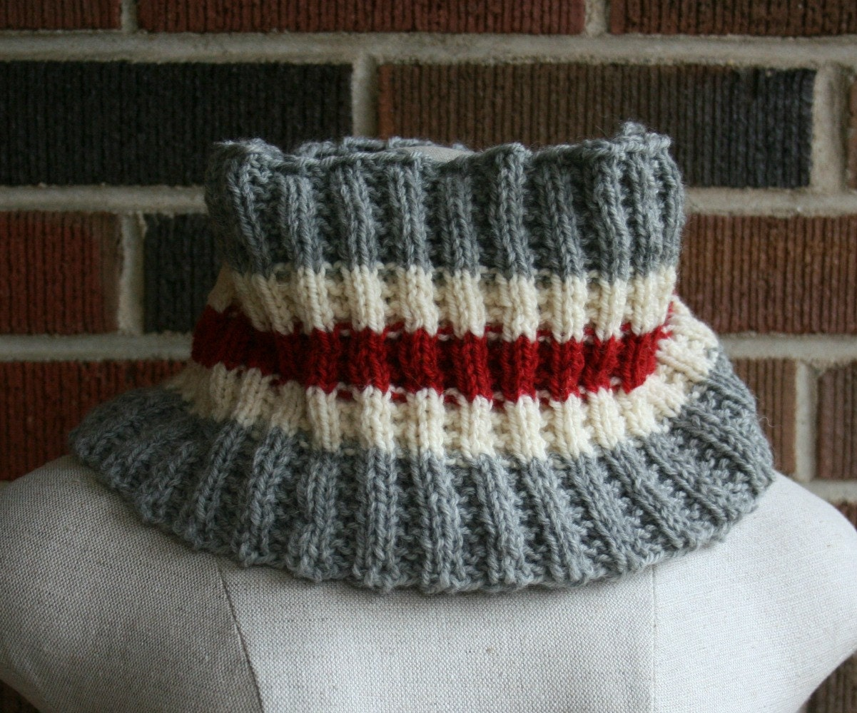 Knitting Patterns For Work Socks : Cowl Knitting Pattern Work Socks Infinity Scarf PDF Men Women