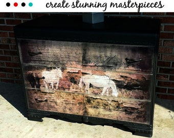 Decoupage Instant Download Wild Horses Instant Digital Download Photograph Texture Commercial Use