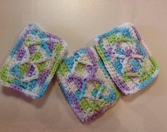 3 diamond sponges