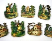 Rustic Country Vignettes - Romantic Wood Cuts of Lost European Times