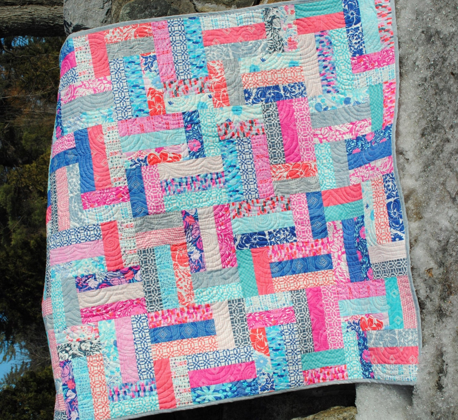 Quilt Pattern Easy Beginner Quick Strip And Jelly Roll