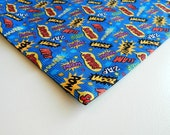 Comic Book Super Hero Catnip Mat For Mew
