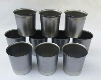 Candle Molds 10 Round Votive with Auto Wick Pins